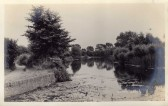 River Great Ouse near the River Mill in Eaton Socon - date unknown