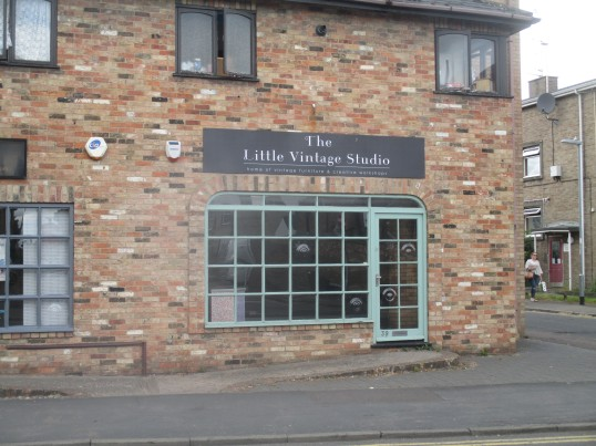 The Little Vintage Studio in Huntingdon Street has moved from this shop - mid July 2016