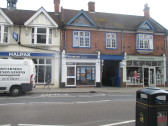 Halifax, Premier Travel and Charlottes Web in St Neots High Street - 9th August 2016