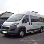 Bushmead Primary School in Eaton Socon gets a mini bus - 22nd Sep 2016