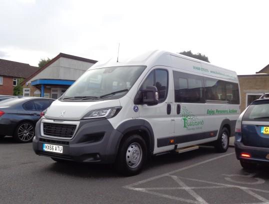 Bushmead Primary School in Eaton Socon gets a mini bus - 22nd Sep 2016