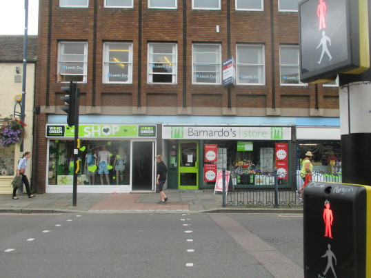 Wood Green Shop, St Neots High Street - 6th Sep 2016