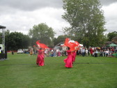Dancers at the Dragonboat Festival on Regatta Meadow on 20th August 2016