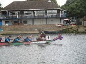 Dragonboat racing on the River Great Ouse - 20th August 2016
