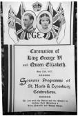 Coronation Programme of George VI - 1937