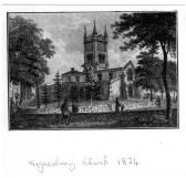 Eynesbury Church in 1824
