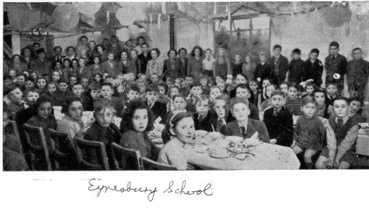 Eynesbury School - possibly at Christmas Time - date unknown