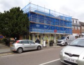 Barclays Bank, High Street - closed for 3 weeks while the bank has major alterations -
