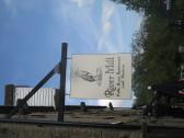 River Mill sign, Eaton Socon - 26th May 2016