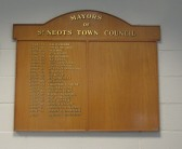 Mayors of St Neots 1974-2013