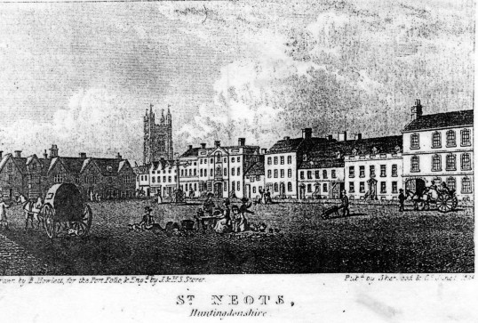 Market Square - south and east sides - 1824