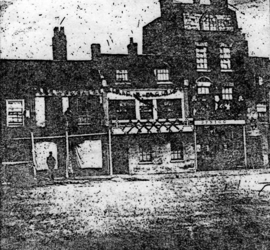 Market Square, St Neots - north side - 1863