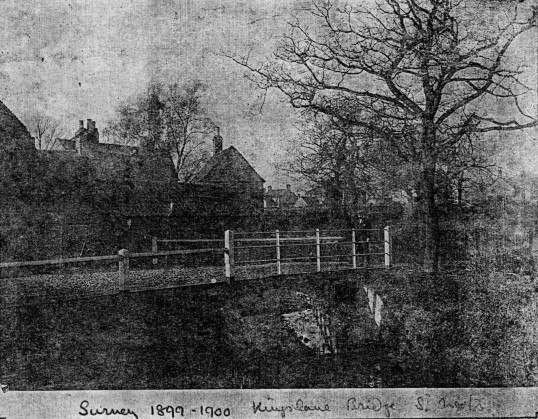Kings Lane Bridge, St Neots 1899-1900