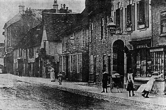 High Street, south side, near Ennals - 1900