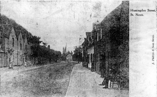 Huntingdon Street in 1900