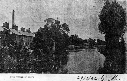 River Terrace and the River Great Ouse - 1904