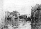 1905 - floodwater in St Neots High Street
