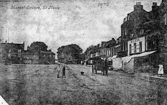 High Street, St Neots (north side) - around 1900