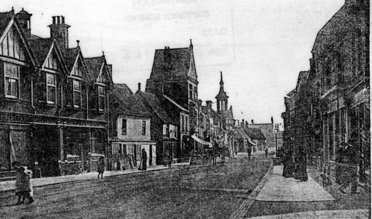 St Neots High Street - 1910