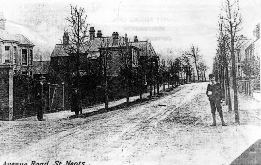 Avenue Road, St Neots, around 1900