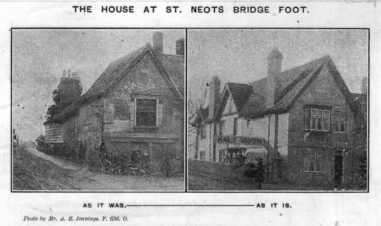 Half Moon pub - around 1905