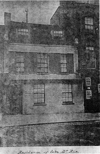 House in Huntingdon Street, just north of the present Beales shop.
