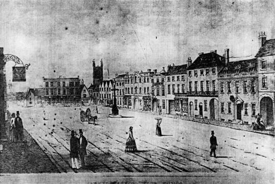 Market Square - 1830-1850