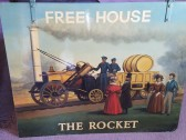 The Rocket Public House in Eaton Ford - 1980-1992