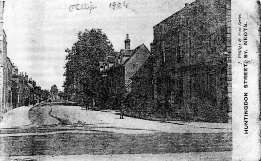 Huntingdon Street - 1904