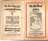 On the Road Dunlop Pictorial Road Plans Vol VI London - Edinburgh