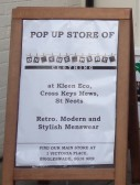 Kleen Eco and Pop up Store, Cross Keys Mews - 21st January 2017