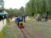 The Riverside Railway has begun - Easter 2017
