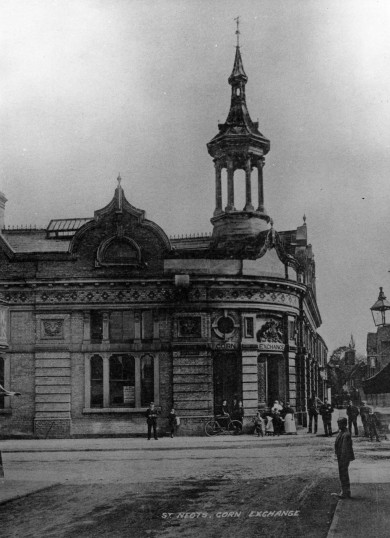 St Neots Corn Exchange in 1910