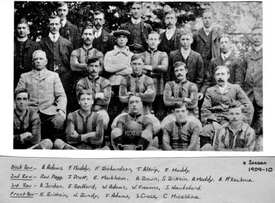 Eagles Football Team - 1909-1910 Season (Eaton Socon Football Club)
