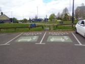 Electric Charging Points in the Riverside car Park - 17th April 2017