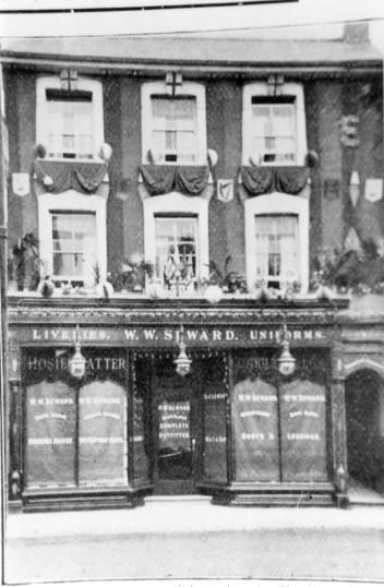 Seward's shop in St Neots High Street - 1902-1905