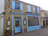 Il Girasole, in South Street, - now painted blue - 1st March 2017