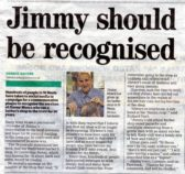 Jimmy Mosca retires - articles in the Hunts Post August 16th and August 23rd 2017