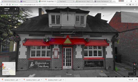 Auntie's Thai Restaurant, Cambridge Street, July 2016