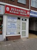 Istanbul Takeaway, High Street, closed for refurbishment - September 2017