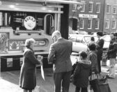 St Neots Carnival in the Market Square in the 1970s