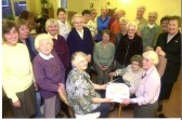 Members of Stetchworth W.I. celebrate their 60th birthday.