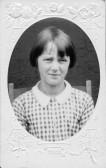 Queenie Cockerton aged 10.