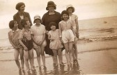 Stetchworth residents, including the Fulcher and Cockerton families  at Hunstanton.