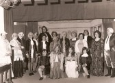 The cast of Stetchworth Players pantomime