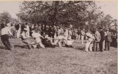 Locals at Lord Brockley's 21st Birthday Party in Stetchworth Park.  He later became Earl of Ellesmere and then the Duke of Sutherland.
