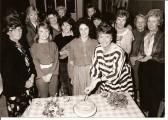 Stetchworth Community Shop, Ellesmere Centre celebrate their first anniversary.