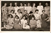 Founder members of Stetchworth Women's Institute.
