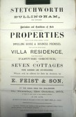 Stetchworth Sales document, including Rose Villa now called Rose Lodge.