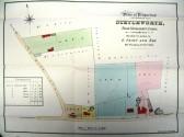 Stetchworth Sales Map including Rose Villa in Tea Kettle Lane.
